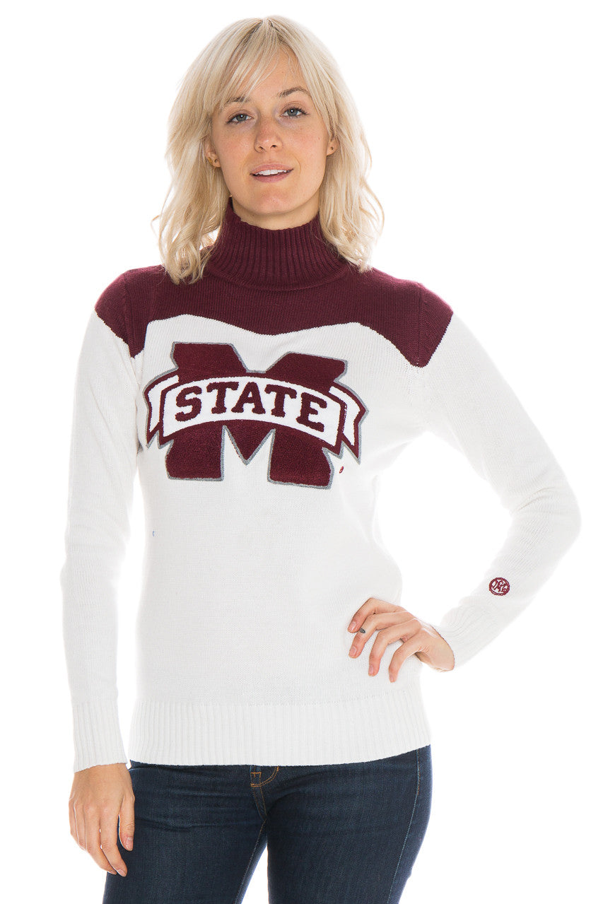 Mississippi State Cheer Sweater