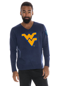 West Virginia V-Neck Sweater