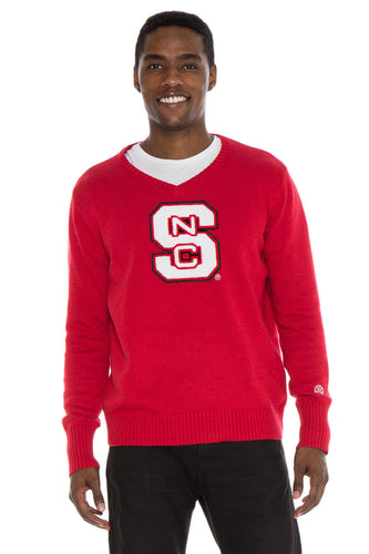 NC State V-Neck Sweater