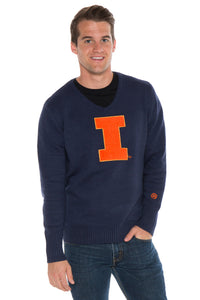Illinois V-Neck Sweater