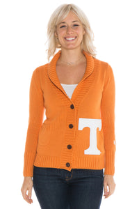 Tennessee Letterman Cardigan Sweater