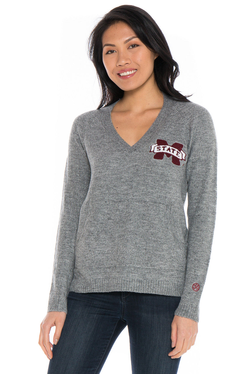 Mississippi State Wool Blend Sweater
