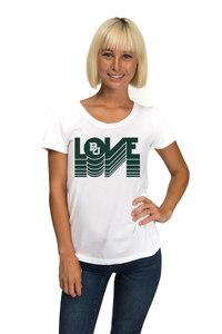 Baylor Organic Scoop Neck Tee