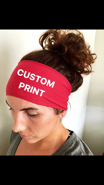 Headband with Custom Print - 615CustomWraps