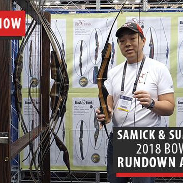 Samick Sports & Summit Sports new 2018 lineup of bows - ATA Show 2018