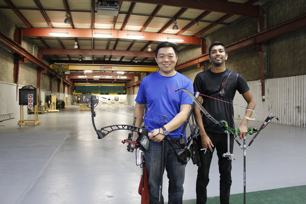 Canada Archery Online - Gordon Trieu and Devin Persaud