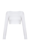 QUINN LONG SLEEVE CROP TOP