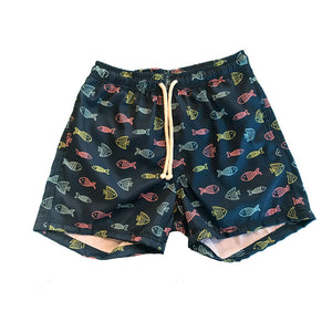 Board short peces de colores