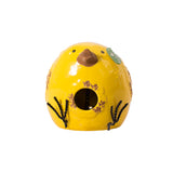 Birdie Birdhouse - Yellow