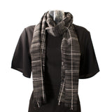 Checkered 'Easy Days' Scarf