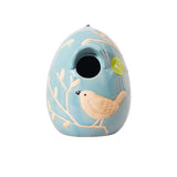 Egg Birdhouse - Blue