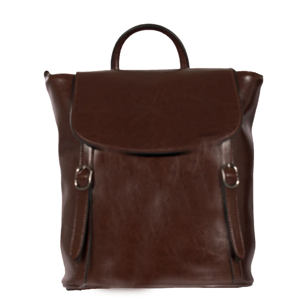 leather backpack, quality
