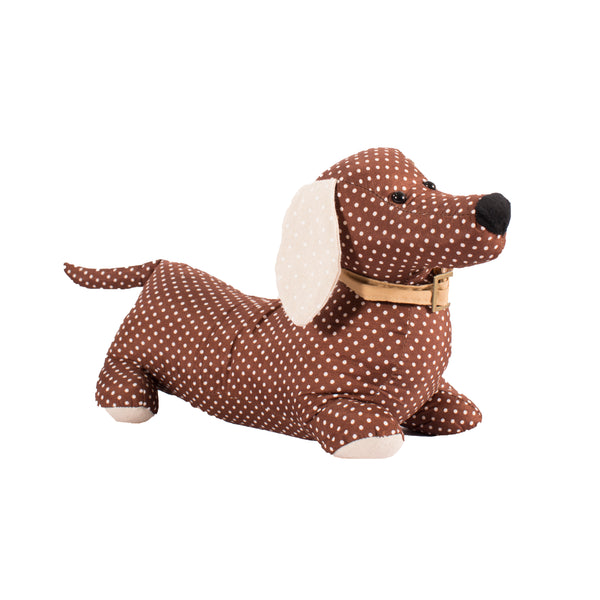 Dachshund Doorstop - Brown