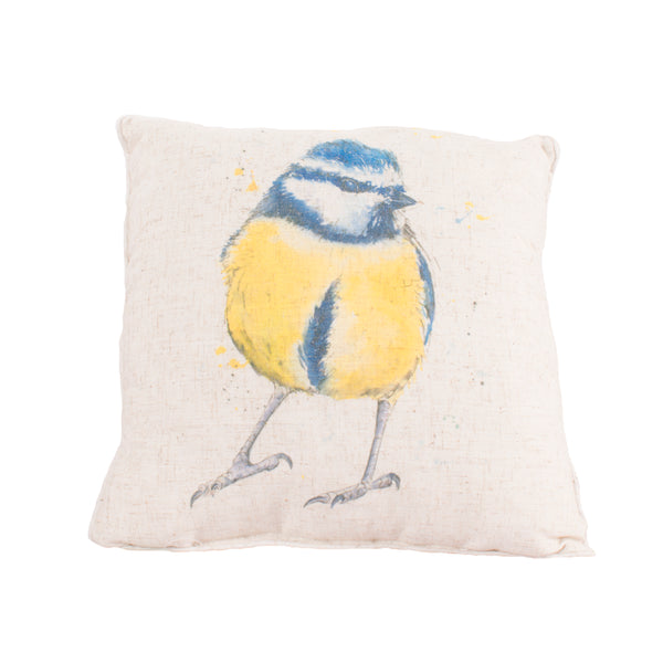 Eurasian Blue Tit Cushion