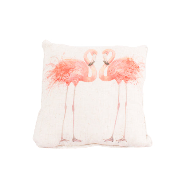 Flamingos Cushion
