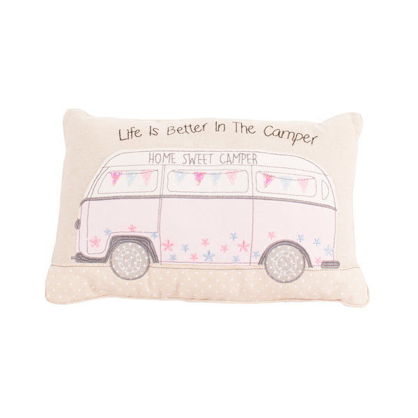 'Life Is Better In The Camper' Camper Van Cushion