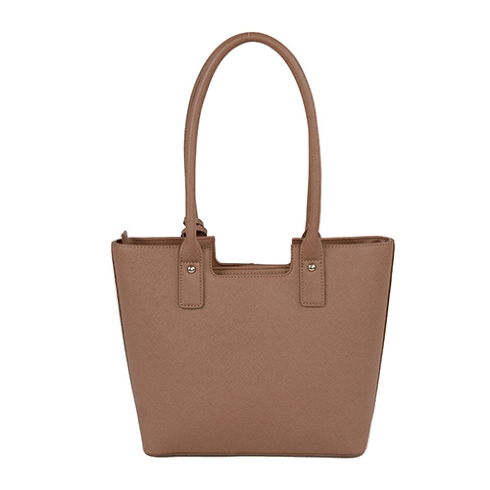 Urban Country Bucket Handbag - Taupe Matte