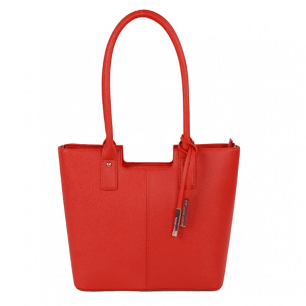Urban Country Bucket Handbag - Red Matte