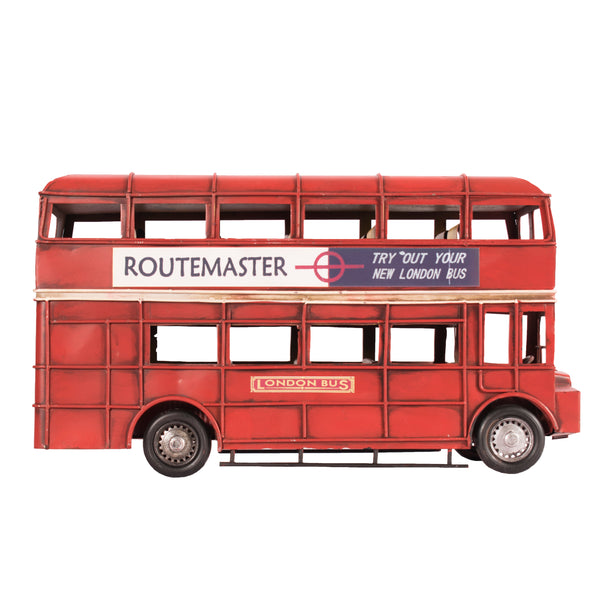 Vintage Style Red London Bus