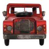 4 x 4 red pick up truck, vintage