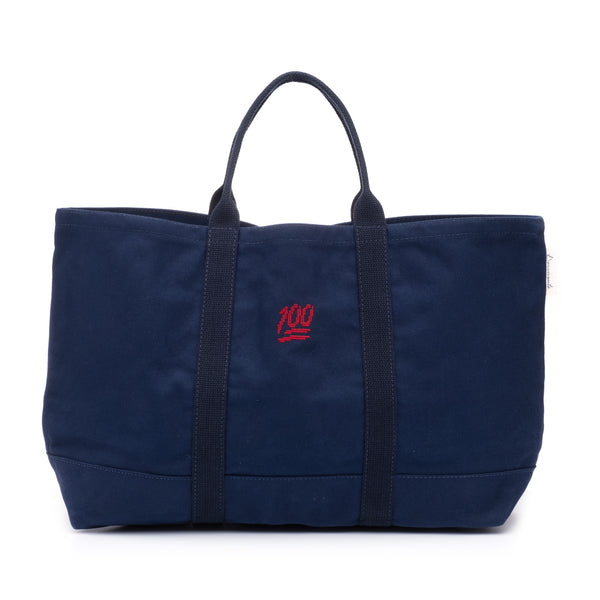 Needlepoint 100 Tote Bag
