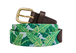 Palm Beach Needlepoint Belt