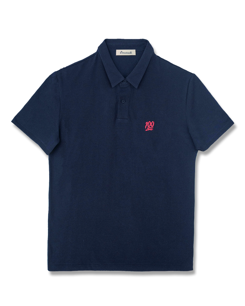 100% Needlepoint Polo