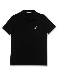 Champagne Needlepoint Polo
