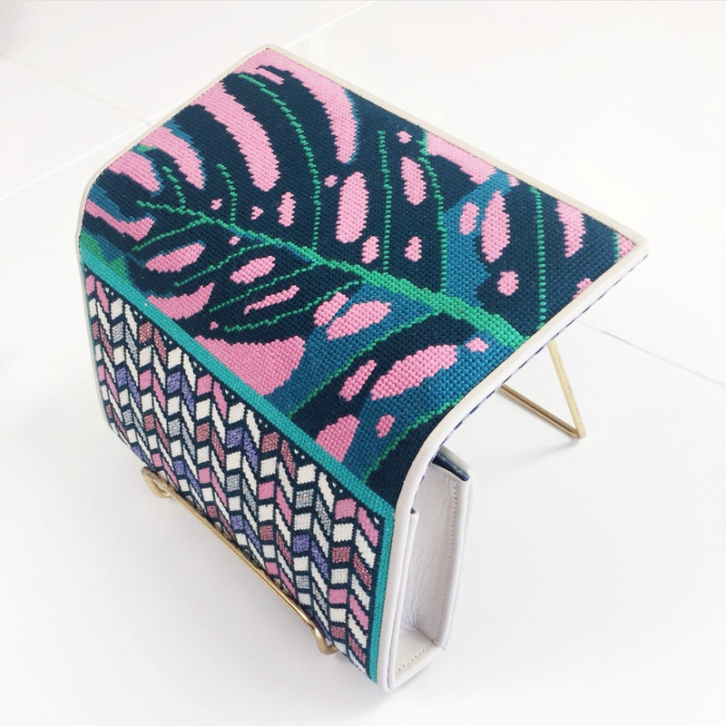 COMING SOON - Palm Beach Needlepoint Clutch