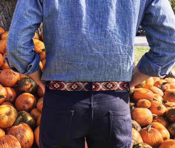 Out West Needlepoint Belt