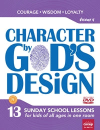 Character by God's Design Volume 4 - 9781470744816