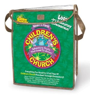 Noah's Park Children's Church Kit - Green Edition - 078144912X