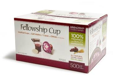 Fellowship Cup - 500 count - 081407011592