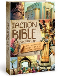 The Action Bible Handbook - 9781434704832