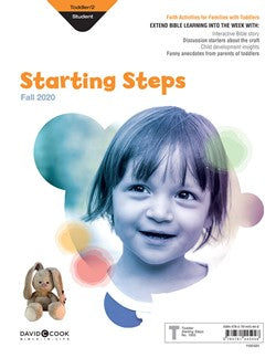 Toddler/2s Starting Steps (Craft/Take-Home) - 1003-1