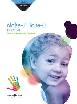 Preschool Make-It/Take-It (Craft Book) - 1013-1