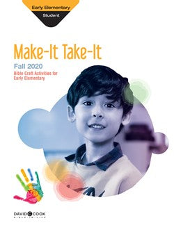Early Elementary Make-It/Take-It (Craft Book) - 1023-1