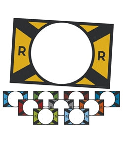 Rocky Railway Crew Signs (set of 10) - 1210000313393