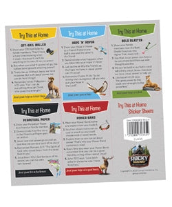 Try This at Home Sticker Sheets (10 sheet/pkg) - 1210000313454