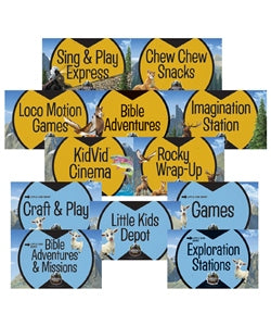Station Sign Posters (set of 12) - 1210000313614