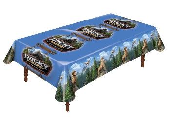 Rocky Railway Theme Table Cover - 1210000313669