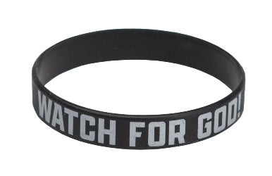 Watch for God Wristband (pkg of 10) - 1210000313799