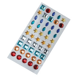Adhesive Gems (sheet of 50) - 1210000314079