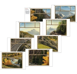 Train Window Posters (set of 8) - 1210000314239