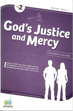 ABC God's Justice and Mercy High School Student Guide - Y2-Q3 - 16-3-027