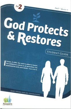 ABC God Protects & Restores Adult Student Guide - Y2-Q4 - 16-4-031