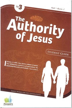 ABC The Authority of Jesus Adult Student Guide - Y3-Q2 - 17-2-031