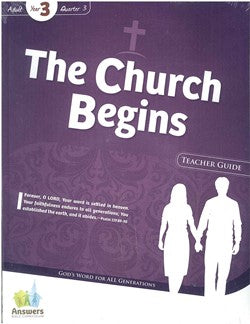ABC The Church Begins Adult Teacher Guide Y3-Q3 - 17-3-030