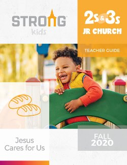 NKJV-ESV 2s & 3s Jr Church Teacher Guide - 21043