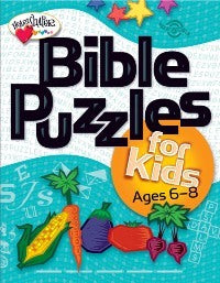Bible Puzzles for Kids (Ages 6-8) - 9780784717882